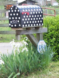My Mailbox I painted..