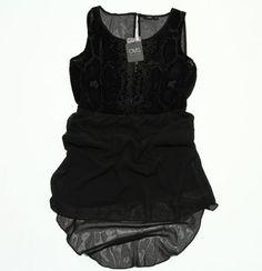 Rochie Dama de la Oviesse Rochie scurtă cu aspect lejer. Rochia este din voal Pret: 40 Lei Marime: L Lei, Black, Dresses, Fashion, Vestidos, Moda, Black People, Fashion Styles, Dress