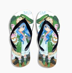 Vicwin-One Date A Live Yoshino Slippers Custom Cosplay (Size:US 8) *** You can get additional details at the image link.