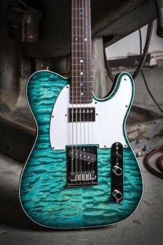 Fender Custom Shop MBS Custom Deluxe Telecaster -Caribean Blue- by Yuriy…