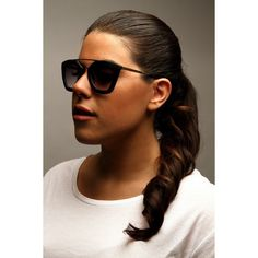 Got my new Matt Black Vintage Metal Brow Bar SKIRTIT Shades! Now available online - Limited Quantity!