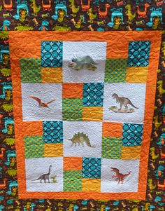 Dinosaur Expert Quilt  Embroidery Library