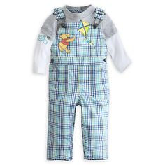 Winnie the Pooh Dungaree Set for Baby