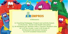 EMPROS International School says #5Reasons Will Suffice !!  For Registrations: http://www.asmgroup.edu.in/empros/
