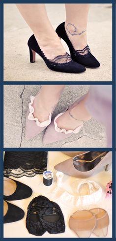 Love Maegan's Lace Socklets DIY