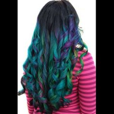 My name is Kasey O'Hara Skrobe and I am a color specialist. Pretty Hair Color, Color Your Hair, Hair Colors, Manic Panic Hair, Voodoo Blue, Purple Haze, Pink Purple, Hot Pink, Faded Hair
