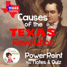 This is a Texas History presentation about the causes of the Texas Revolution. It explains the differences in Anglo and Mexican cultures, as well as the colonists' attempts to resolve the differences peacefully. It also promotes critical thinking about slavery in colonial Texas, in a way that is appropriate for elementary students.