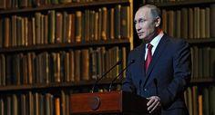 Russian President Vladimir Putin said Thursday Soviet revolutionary Vladimir Lenin and his flow of thought led to the collapse of the Soviet Union.