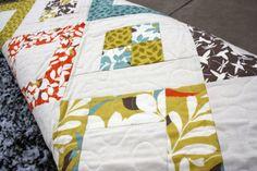 Arcadia Boxes crib quilt