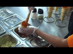 Como rellenar los conos pizza