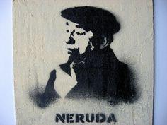 Pablo Neruda had a really cool house Stencil Art, Stencils, Grafiti, How To Get Followers, Pablo Neruda, Mixed Media Canvas, Craft Tutorials, Love Book, Artsy Fartsy