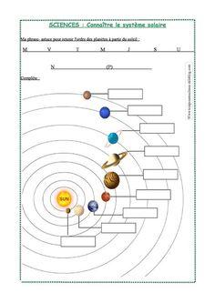 Le système solaire - Tout pour ma classe                                                                                                                                                                                 Plus