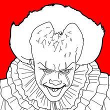 It Pennywise Coloring Page This It Pennywise Coloring Page Is Available For Free In Stephen King S It Coloring Coloring Pages Pennywise Painting Pennywise