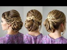Looped Braid Updo | Missy Sue - YouTubeBraid Hairstyles, Braids, braids tutorial, braids for short hair, braids for short hair tutorial, braids for long hair, braids for long hair tutorials...