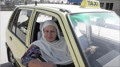 Zahida Kazmi: Pakistan's Ground-Breaking Woman Taxi Driver ~ GoZiyan The General Blog