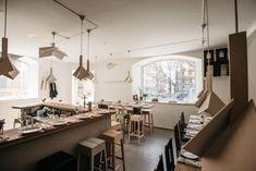 Woodstockholm Matbare - Google Search Stockholm Restaurant, Restaurant Bar, Swedish Cuisine, Visit Stockholm, The Bistro, Bar Seating, Tasting Menu, Restaurant Interior Design, Cafe Bar