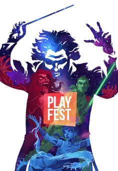 Kenny Ruiz: PlayFest 2014 cartel Musca, The Dreamers, Fictional Characters, Event Posters, Entrepreneur, September, Videogames, Fantasy Characters