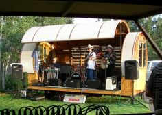 Gypsy Wagon Stage, the Backyard Bandstands.....Luv it!!!