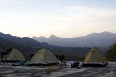 Tenting on the Sarara property in Northern Kenya.