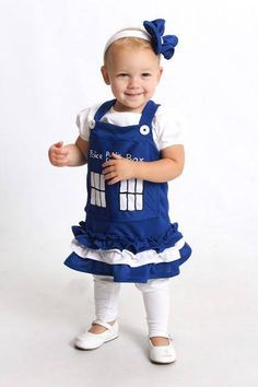 TARDIS baby outfit!