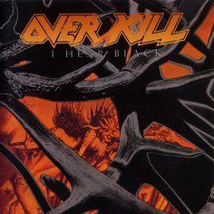 Overkill - I Hear Black Cd Heavy Metal 11 Tracks Musica Heavy Metal, Arte Heavy Metal, Metal On Metal, Heavy Metal Music, Metal Bands, Overkill Band, Hard Rock, Reign In Blood, Classic Video