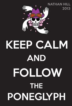 One Piece Keep Calm Nico Robin 2Y