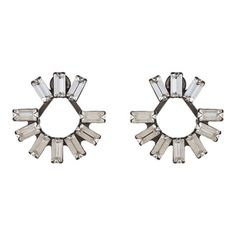 These Dannijo Pi earrings are perfect for a woman who likes bling but isn't super-girlie.