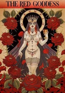 Alchemical Emblems, Occult Diagrams, and Memory Arts: Babalon! Ishtar! Kali! Nuit!: Art of the Scarlet Woman