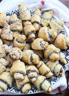 Day 11 of 12 Days of Cookies: Poppyseed Rugelach - Little Broken Rugelach Cookies, Rugelach Recipe, Bulk Food, A Food, Poppyseed Roll Recipe, Jewish Recipes, Jewish Desserts, Czech Recipes, Jewish Food