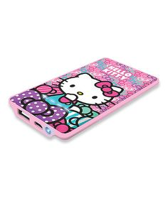 This Hello Kitty 1,000-mAh USB Power Bank is perfect! #zulilyfinds