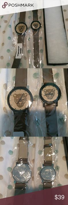 Quartz wrist watch his and hers set. 1+1 couple watches head quartz wrist watches with leather strap. Head Accessories Watches