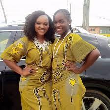 Yoruba actress Mercy Aigbe and her daughter in Ankara  #Nollywood #Naija #Yoruba #Nigeria #Actress #Ankara