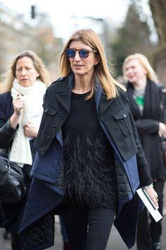 Sarah Rutson Sarah Rutson in Westward Leaning sunglasses   - HarpersBAZAAR.com