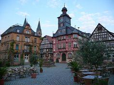 File:Altstadtmarktplatz Heppenheim, Bergstraße, Hessen