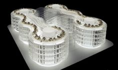Biomimetic office … This low-energy building is inspired by the spookfish, brittle sea star and living stone plant.