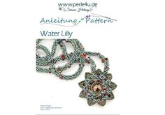 Beading Pattern PDF-Download WATER-LILLY by Perle4u on Etsy