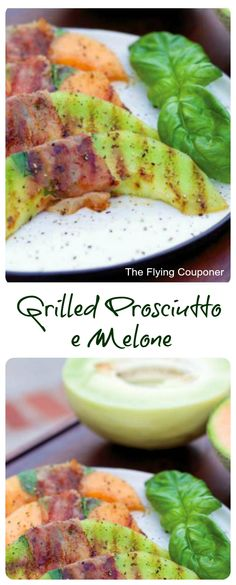 Published in Living the Mediterranean Diet cookbook, this recipe is much more than delicious, it is fully packed with nutrients. Grilled Prosciutto e Melone Tzatziki, Bitter Gourd Fry, Ceasar Salat, Bitter Melon Recipes, Prosciutto Melon, Mediterranean Diet Cookbook, Seafood Pasta, Healthy Desserts, Grilling Recipes
