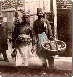 Seyyar satıcılar - 1900 lü yıllar
