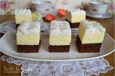 Barbi konyhája: Amerikai krémes ♥ Hungarian Recipes, Romanian Recipes, Romanian Food, Vanilla Cake, Mousse, Cheesecake, Food And Drink, Barbie, Cooking Recipes