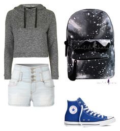"""Field Trip"" by jaqueline-grace on Polyvore featuring LE3NO, Topshop and Converse"