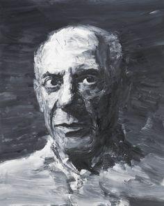"Yan Pei Ming. Vu à l'expo ""Picassomania"" janv 2016   Grand Palais. The Huffington Post."