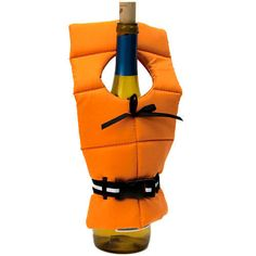 Wine Bottle Life Preserver Cover in Unique Bar Gadgets Gifts