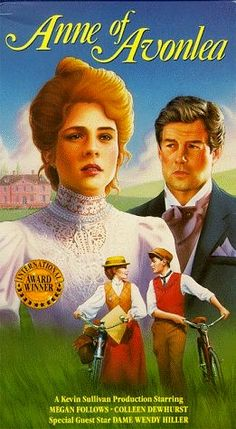 """VHS cover from Movie still from """"Anne of Green Gables, the Continuing Story"""""""
