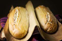 Sourdough Baguette Bread #Recipe, #Glutenfree. Advanced recipe in #metric (convert amounts to US Standard).