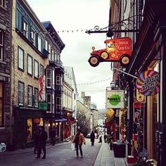 Old Quebec City, Canada | 17 Actual Towns That Look Just Like Hogsmeade