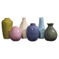6 Piece Deirdre Vase Set