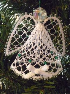 Angel 2012 Christmas Torchon Bobbin Lace Pattern Lacemaking *PATTERN ONLY*