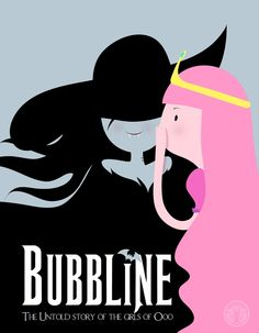 Bubbline Princess Bubblegum and Marceline the Vampire Queen in a mash-up with Wicked Cartoon Network, Life Is Strange, Princesse Chewing-gum, Geeks, Bubbline, Marceline And Princess Bubblegum, Land Of Ooo, Finn The Human, Jake The Dogs
