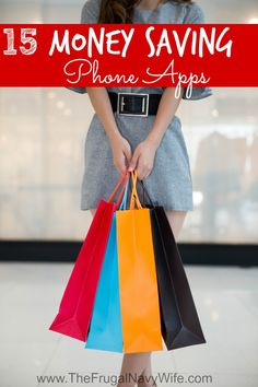 15 Money Saving Phone Apps - The Frugal Navy Wife