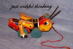 Hey, I found this really awesome Etsy listing at https://www.etsy.com/ca/listing/85679736/vintage-fisher-price-pull-toy-kris